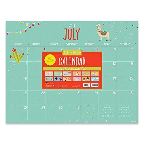 Calendario Mese Giugno 2020.Calendario Mensile 2020 A Grande Rilievo Da Tavolo Mensile Luglio 2019 Giugno 2020 Calendario Desktop Anno Accademico Calendario Di
