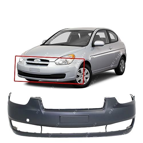 AUTEX 80700 Black Exterior Front Left Door Handle Driver Side LH compatible with 2006 2007 2008 2009 2010 2011 Accent door handle 82650-1E050