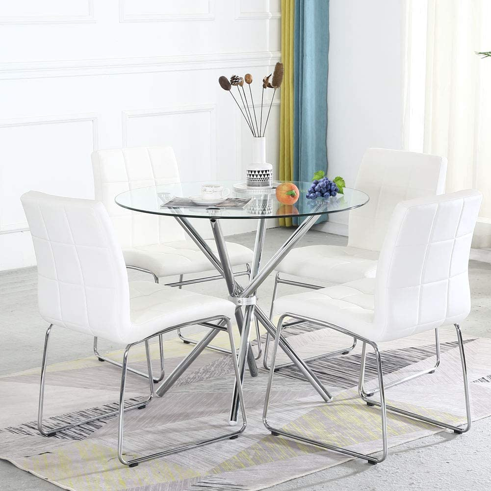 Buy Dining Table Set for 9,Modern Kitchen Table and Chairs for ...